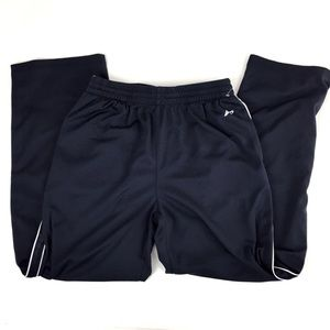 Athletic Running Pants Breathable Navy Blue XL